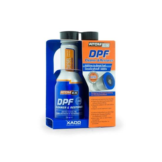 Atomex DPF cleaner and restorer