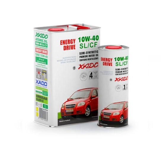XADO Motor Oil 10W40 SL/CF