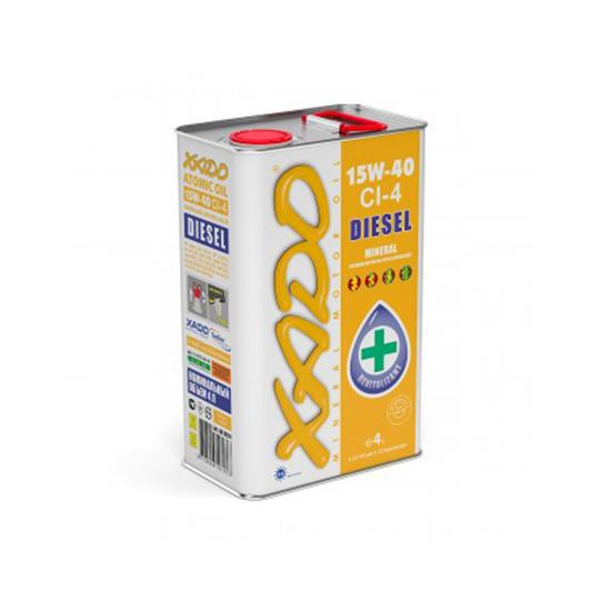 XADO ATOMIC OIL 15W40 CI-4 DIESEL ,20L