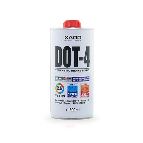 XADO DOT 4 BREAKE FLUID 500ML